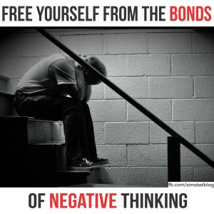 Free yourself from the bonds of negative thinking